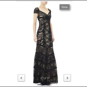 New Nicole Miller Sz 2 Lace Sweetheart Gown Dress